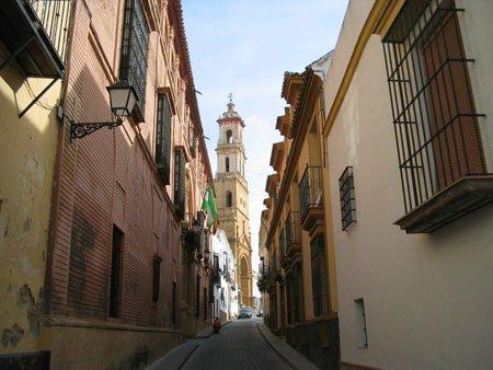 Uno de los mejores conservados en la provincia, es el casco histórico de Utrera