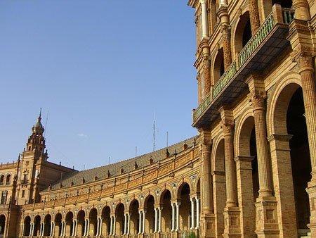 La Plaza de España se mantiene como uno de los monumentos más visitados de la ciudad /Anjuli
