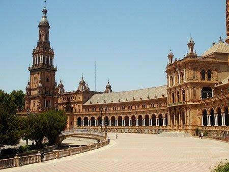 Plaza de España. Strocchi.