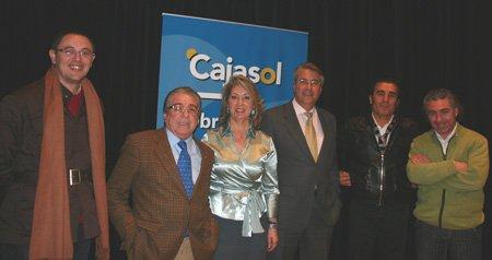 Alberto G Reyes, Nano de Jerez, Mª Gómez, Fabi, Manuel Orta y Segundo Falcón.