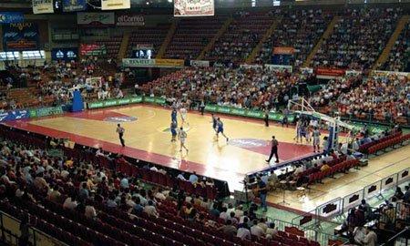 Imagen del actual pabellón deportivo de San Pablo.