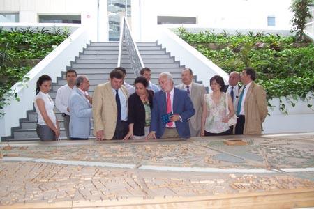 La visita ha servido para conocer de primera mano el nacimiento y evolución de un Parque Científico y Tecnológico