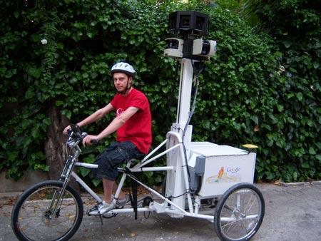 Así son los trikes que Google utiliza para fotografiar las ciudades