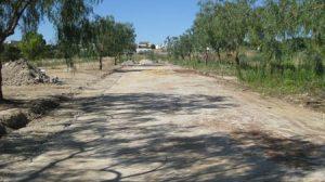El terreno utilizado para construir la zona verde, se encuentra situado en el denominado
