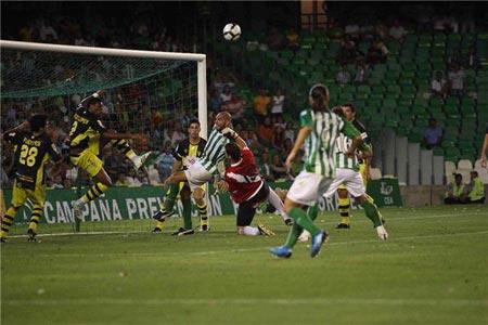 Los dos primeros encuentros del Real Betis en Liga, así como el de Copa del Rey ante el Córdoba, no han sido televisados