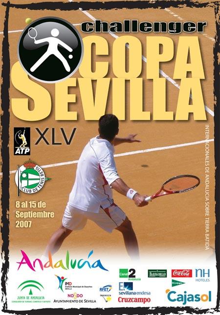 La Copa Sevilla de Tenis se ha consolidado como uno de los más importante del país