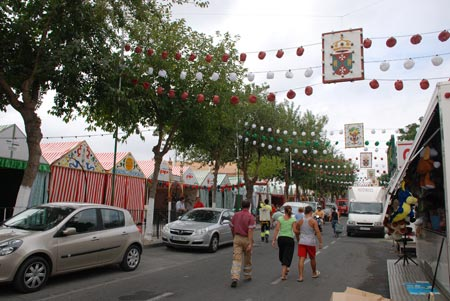 La feria tiene su origen en una verbena popular y tómbola benéfica un 15 de agosto de principios del siglo pasado.