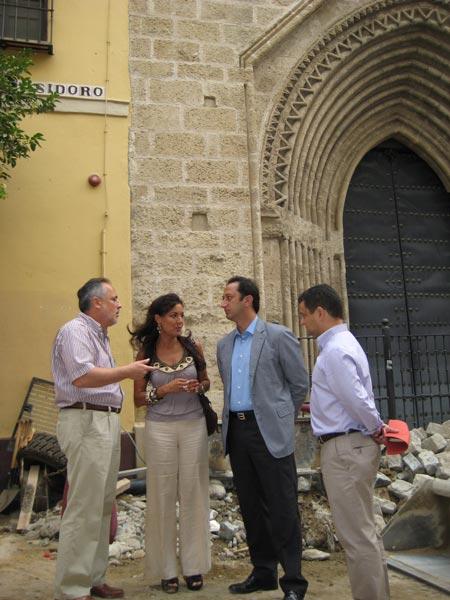 San Isidoro se suma al gran 'eje peatonal' del centro sevillano