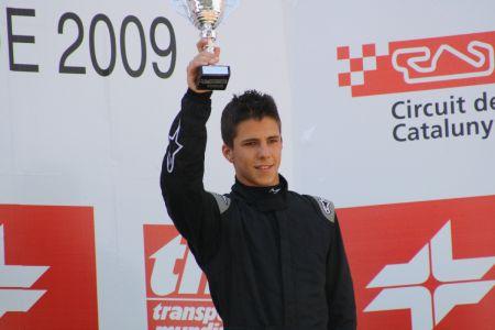 Bejarano, en el podio de Barcelona