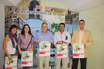 José Manuel Campos, junto a los representantes de las Escuelas Deportivas Municipales