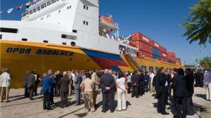 El objetivo de estas jornadas es reforzar la comunicación entre los puertos canarios y sevillano