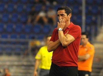 El partido ante el Real Madrid, fue el número cien de Manolo Jiménez en el banquillo del Sevilla