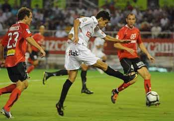 Jesús Navas es uno de los jgadores más destacados del pletórico inicio de temporada del Sevilla FC