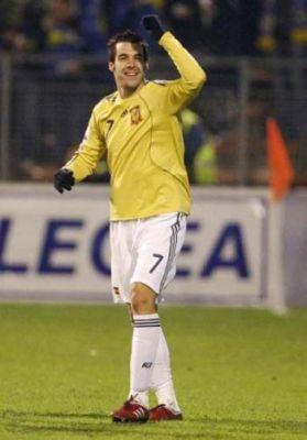 Negredo fue el mejor de España en su victoria ante Bosnia Herzegovina/SevillaFC