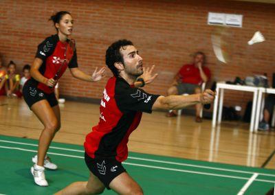 Laura Molina y Rafael Fernández, dos de los convocados por la selección