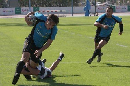 El Cajasol Rugby no pudo defender el liderato con victoria