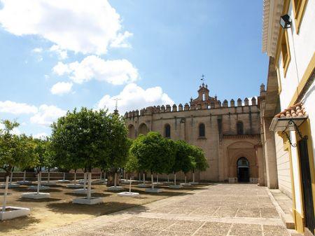 Un patio interior de San Isidoro del Campo/maksev31