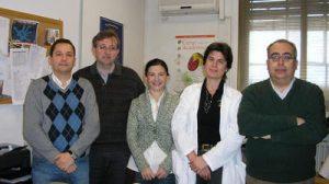 El grupo de investigación encargado del proyecto, liderado por Pablo Lardelli.