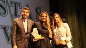 Marina Alabau y Blanca Manchón fueron las deportistas premiadas por Sevilla