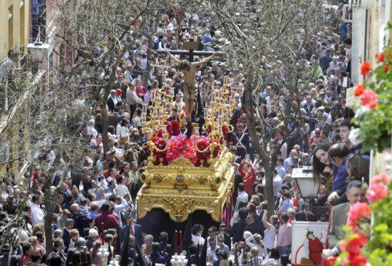 Cristo de San Bernardo por las calles de su Barrio/ Pasión en Sevilla
