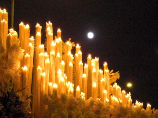 Candelería de la Virgen de la Sed/Pasión en Sevilla
