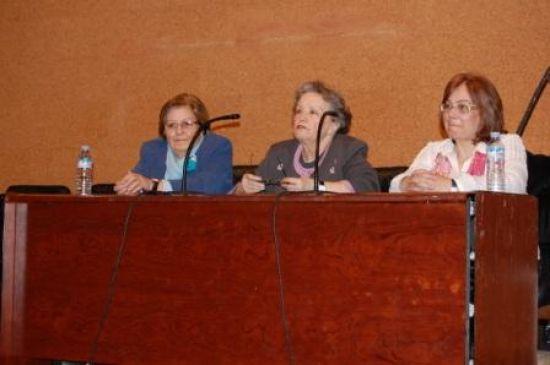 Maria Galiana en el encuentro-coloquio de Alcalá de Gaudaira. /SA