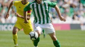 El jugador argentino en un partido de esta temporada en el Ruiz de Lopera/Rbb