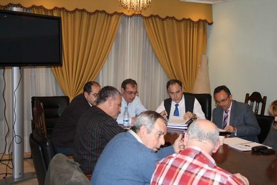Momento de la reunión de la Comisión de Movilidad del Consejo de Participación de San Juan
