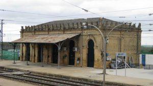 la estación de Olivares-Villanueva del Ariscal