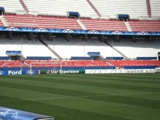 El Estadio Ramón Sánchez Pizjuán ya está preparado para la cita de esta noche/SevillaFC