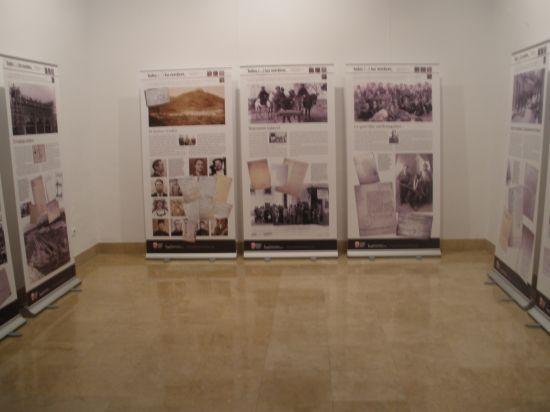 Paneles de la exposición presentada en Sevilla durante febrero/angelespinola