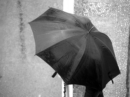 Las intensas lluvias de las últimas semanas han obligado a tener a mano el paraguas/Davichi en Flickr