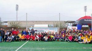 Jugadoras participantes en el II Torneo Internacional de Rugby Femenino / SA