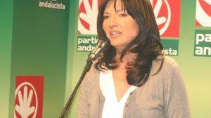 Pilar González, candidata andalucista a la Alcaldía de Sevilla
