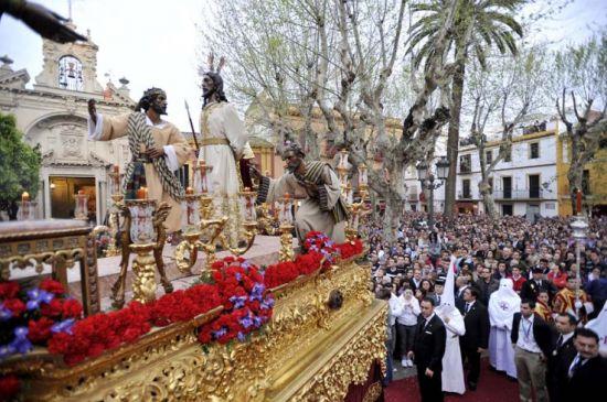 Salida de Jesús Ante Anás/ J.M. Serrano