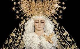 El Viernes de Dolores se oficia la Función Principal de Instituto en honor a Virgen de los Dolores en su Soledad