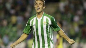 Juan Pablo Caffa anotó un gol olímpico ante el Cádiz/Realbetis
