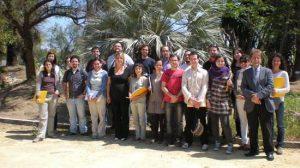 21 jóvenes voluntarios harán de cicerones para mostrar el nuevo parque al público