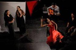 Melisa Calero y José Torres esta noche en el CAAC / S.A.