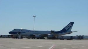 El primer jumbo, de la compañía japonesa Nippon Cargo Airlines/SA