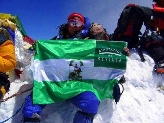 La alpinista sevillana se convirtió en la primera mujer andaluza en subir al Everest/Expedición