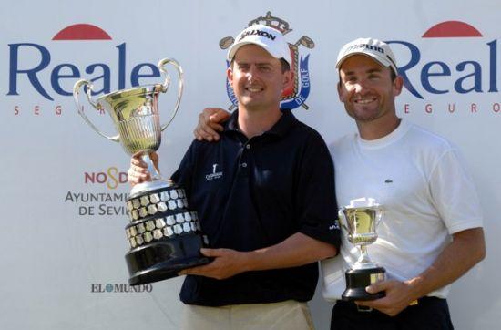 Lawrie y Garrido fueron los mejores en la edición de 2008/Luis Corralo