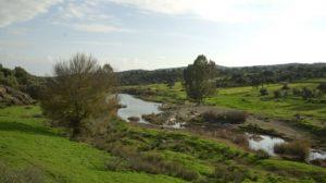 Vista del Parque Natural de la Sierra Norte de Sevilla