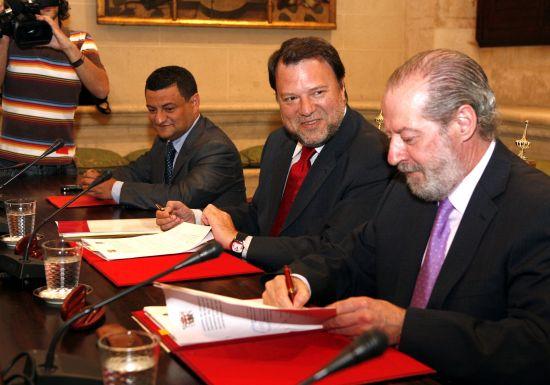 El convenio permitirá la ejecución de los planes urbanísticos/SA.