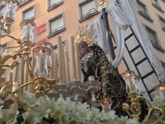 La Soledad de San Lorenzo, momentos antes de entrar en Campana/SA