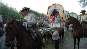 Los romeros inician el camino de vuelta