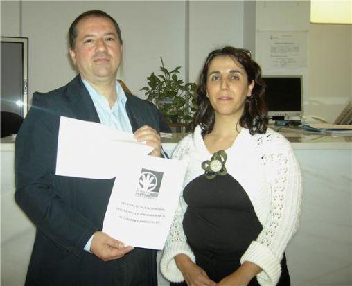 Francisco Rubio y Lola Aquino han presentado sus alegaciones al PGOU/PA.