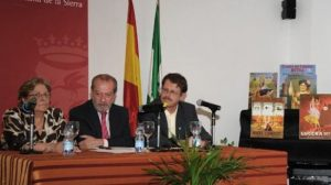 El presidente de la Diputación, en el acto de presentación del proyecto