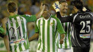 El gol de Juanma llegó en el minuto 94/realbetis