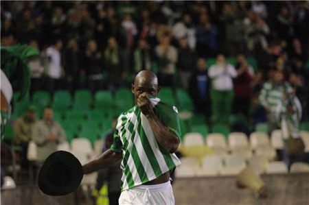 Emaná anotó el gol de penalti del equipo verdiblanco/Rbb